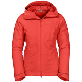 Jack Wolfskin Argon Storm Jas Dames, orange coral